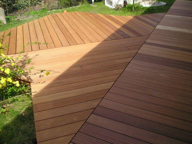 holz terrassen aus bangkirai und hartholz