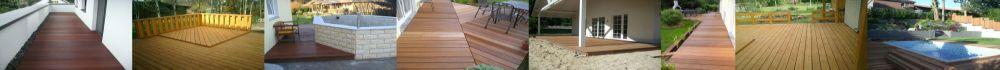 Holzterrassen und Holzbalkone